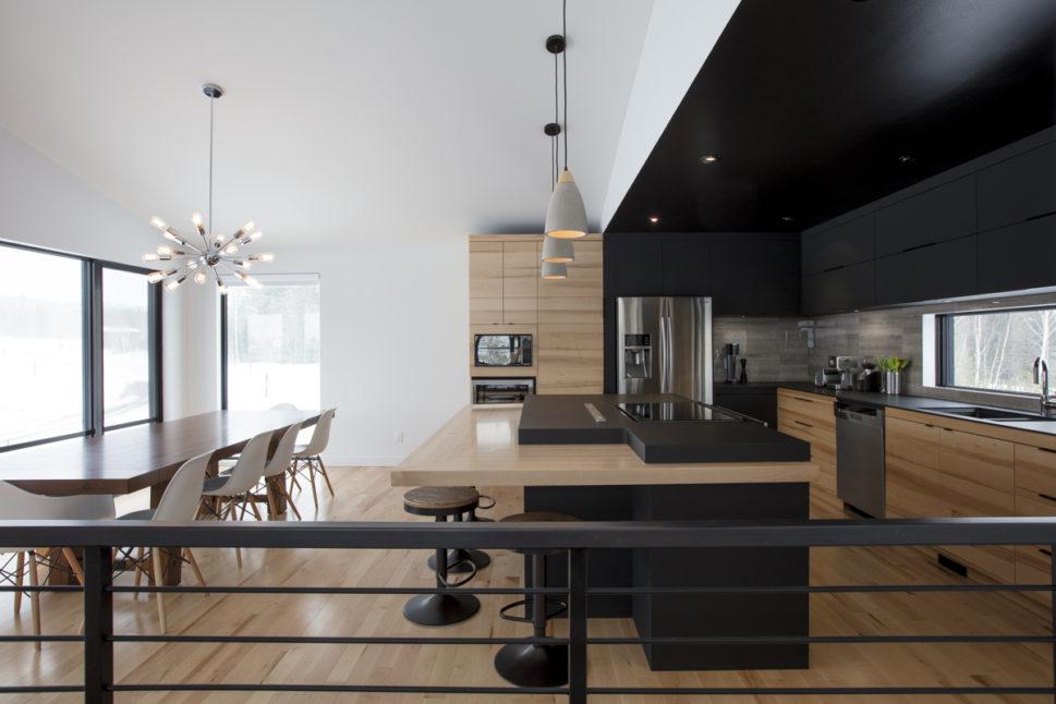 Best Interieur Chalet Moderne Galerie - Idées décoration intérieure ...