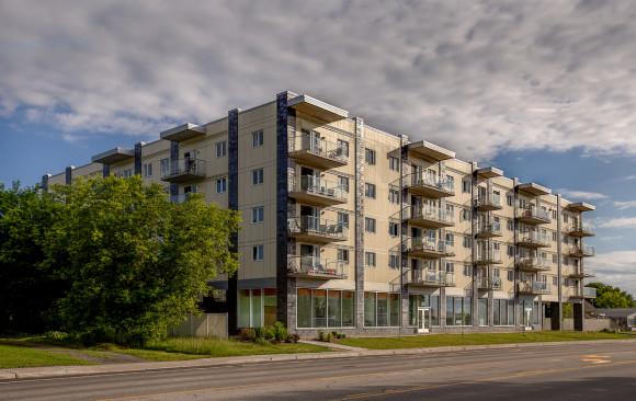 Bloc appartement - Drolet construction